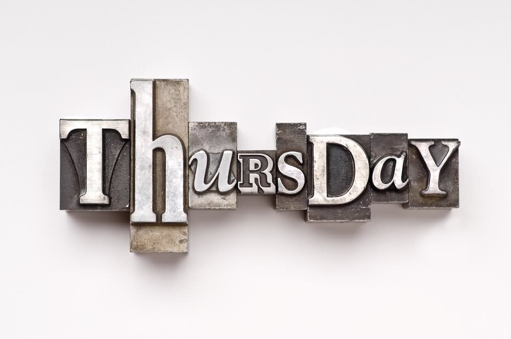 It's Thursday!  The Best Day to List Your Home