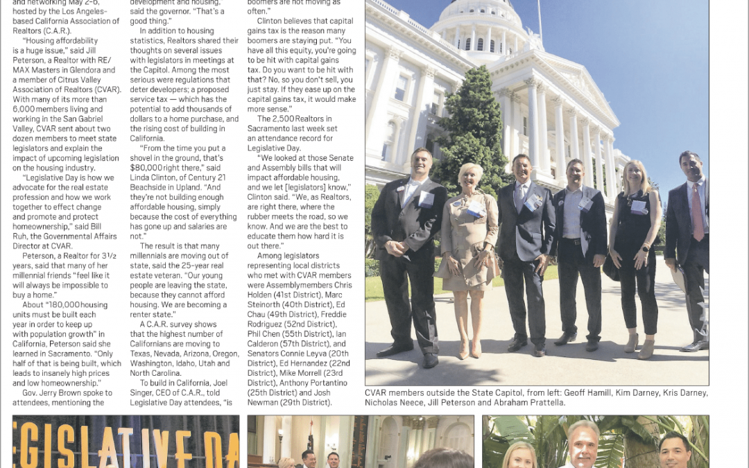 We're Influencing California State Legislation and Housing Affordability