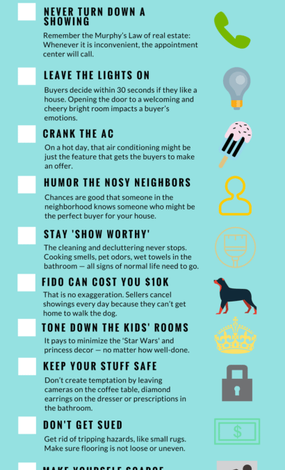 11 Tips Sellers Need When The For Sale Sign Goes Up
